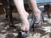 high heels elegance