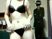 Nerdy Teen Dancing and Stripping And Oiled Body
