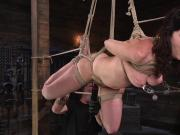 Pain Slut Cherry Torn Submits to Corporal Punishment and Rop