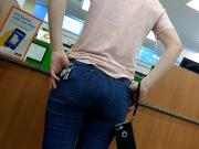 Pawg cake ass in jeans