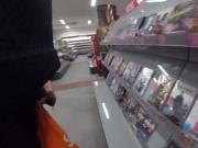 Piss in the video store