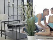 18 Videoz - Sporty couple anal workout