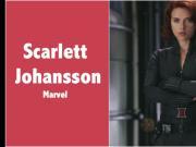 Scarlett Johansson Black Widow - Marvel Fap Tribute