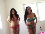 Flashing Their Latina Asses For the Camera