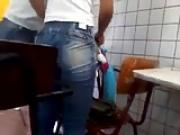 Perfect colegial teen ass in jeans #1