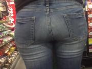 Latina milf ass jeans
