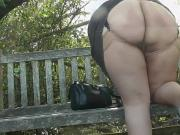 Upskirt in the Country Park Part Two