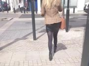 Mini skirt cuir teen 2