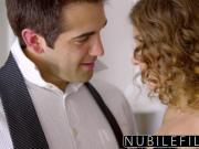 NubileFilms - Teen babysitter gets hardcore payment