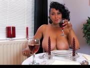 Donna Ambrose AKA Danica Collins - Dinner date