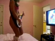Guitar Hero hot girl