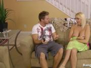 Hot Blonde Cheats On Husband With Her Stepson!