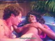 Black Babe gets Fucked all Over 1960s Vintage