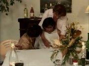 Grandma Martha Enjoys a Dinner Party