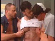 Group Of Men's Having Gay Sex In Toilet