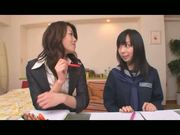 Japanese lesbian teacher seduces schoolgirl part 1