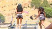 Black Lesbian Hunters, Hot CheerleadersThreesome