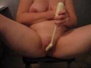 my wife with dildo