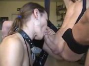 Amateur mature deep and wet blowjob