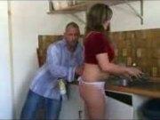 German Pussy Fucking In Kitchen #-by Sabinchen
