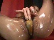 she loves her dildo