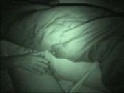 Real hidden cam. See my sister sleeping
