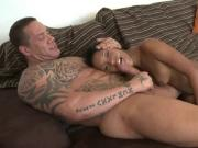 Black chick fucked hard by some big guy - KU