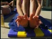 Jessica Darlin Lesbian Foot Fetish