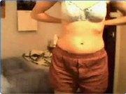 Jenny srip on cam 19