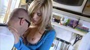 Hot blonde fucked by Nacho Vidal