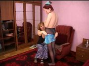 Russian mom and girl 9 of 26