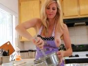 Sexy MILF Kate Kastle Bakes a Cake