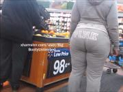Phat Booty Gray Sweats Sista