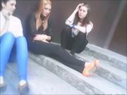 Hot girls spitting comps