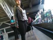 Mega Culo En El Metro