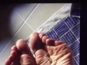My Friend Cumming on a Neighbor's Soles