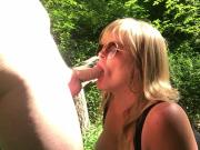 Jenna Jaymes Sucks Big Cock In The Woods 1080p