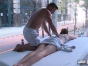Hot Eva Briancon gets Fingered in the Public Sex Truck