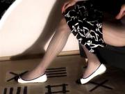 Filling Up Ballet Flats with Cum