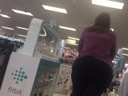 Candid 3Wide hips & fat ass pawg