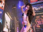 Hot Teen Latina Disco Bikini
