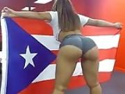 Puerto Rican Babe Sexy Booty