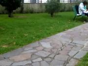 Esibizionismo al giardino
