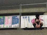 cd whore train station exhib