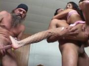 Alicia Angel Works All Holes Hard