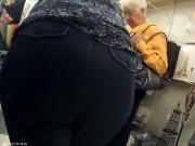 Gilf in tight pants
