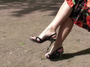 Tanya's feet...