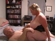 Huge Tit Mature Blonde Gets Butt Fucked