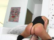 Curvy babe Melissa May gets rammed