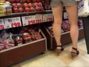 Candid Open High Heels In Public 15